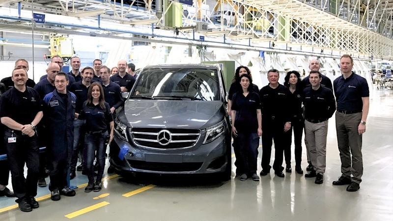 Jubileuszowy Mercedes-Benz Klasy V