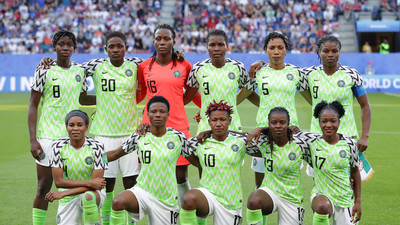 Super Falcons of Nigeria move up in new FIFA Ranking