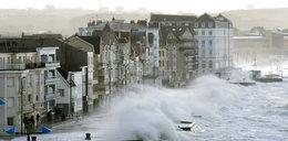 Orkan Eleanor pustoszy Europę. Są ofiary