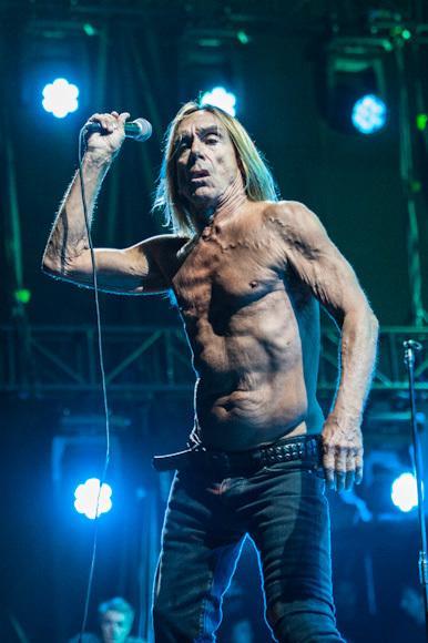 OFF Festival 2012: Iggy Pop & The Stooges (fot. Monika Stolarska / Onet)