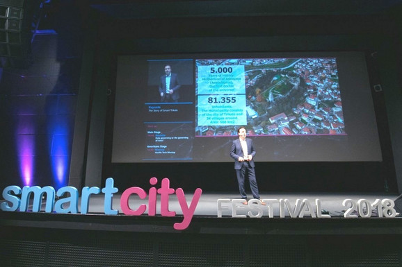 Zvaničnici Trikale posetili su Smart Siti Festival u Beogradu gde su podelili iskustva