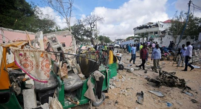 The Mogadishu restaurants targeted in Wednesday's Shabaab attack were popular with affluent, young and diaspora Somalis