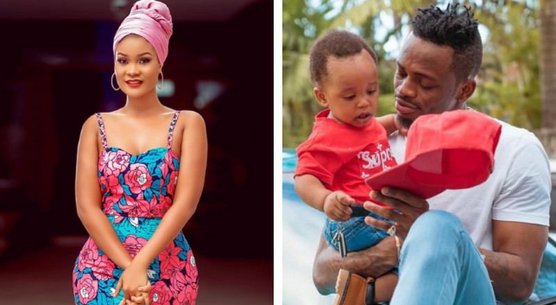 Hamisa speaks on claims of Diamond being a deadbeat dad