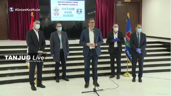 Aleksandar Vučić u Novom Pazaru