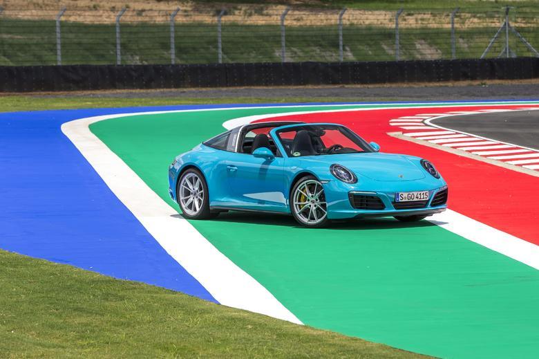 Porsche 911 Targa 4: Ciężkie, ale za to stylowe