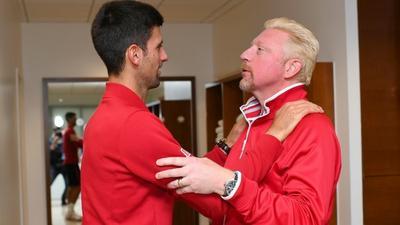 Becker criticises Djokovic following split