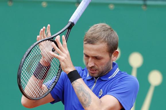 PROZVAO ĐOKOVIĆA, PA ISPAO! Kraj za Novakovog dželata, deklasiran na korak od finala mastersa u Monte Karlu