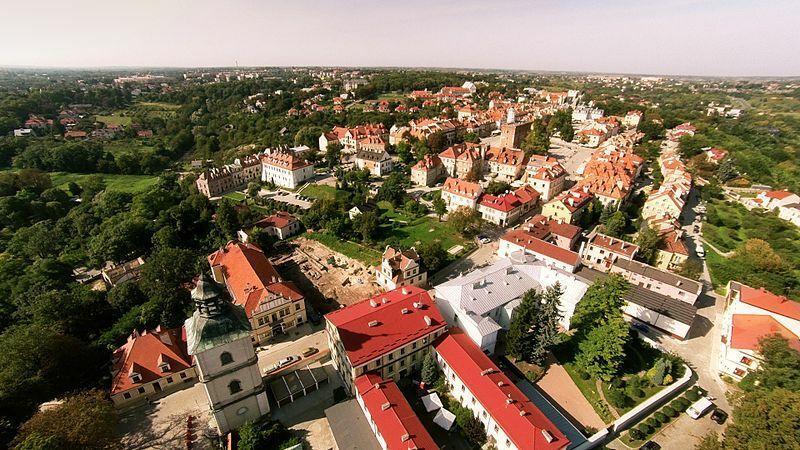 Sandomierz - historyczny zespół architektoniczno-krajobrazowy