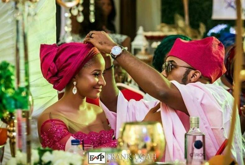 Banky W and Adesua Etomi are both celebs and go-getters.