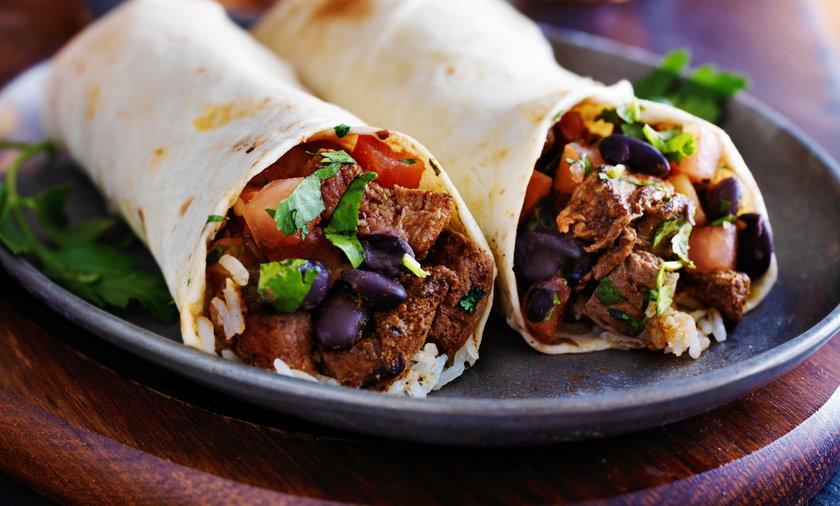 Burrito, Jak zrobić meksykańskie burrito? Przepis na mięsne burrito z ryżem
