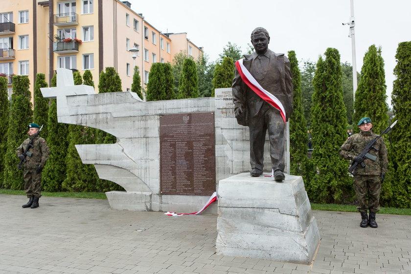 Pomnik stoi przy ulicy Balladyny w Kraśniku