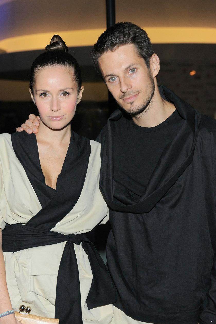 Monika Mrozowska i Maciej Szaciłło