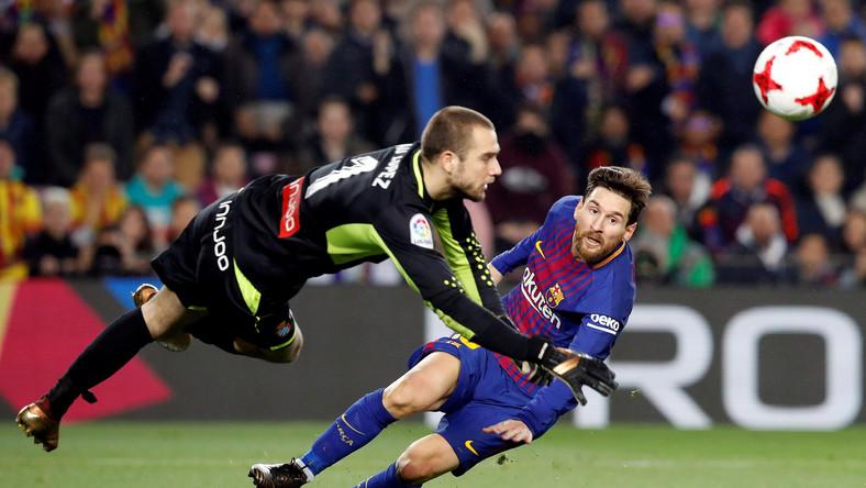 Pau Lopez i Lionel Messi