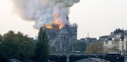 Pożar katedry Notre Dame w Paryżu. Relacja na żywo