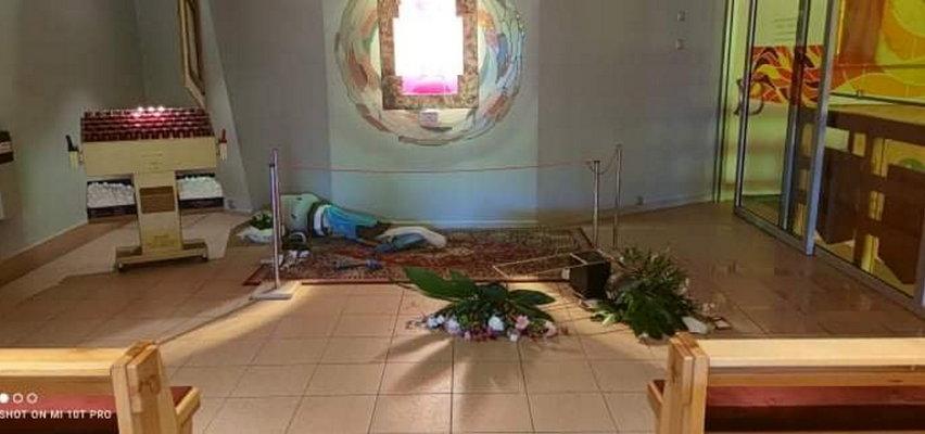 Wandal zdemolował kościół w Koninie. To kolejny już atak na świątynię