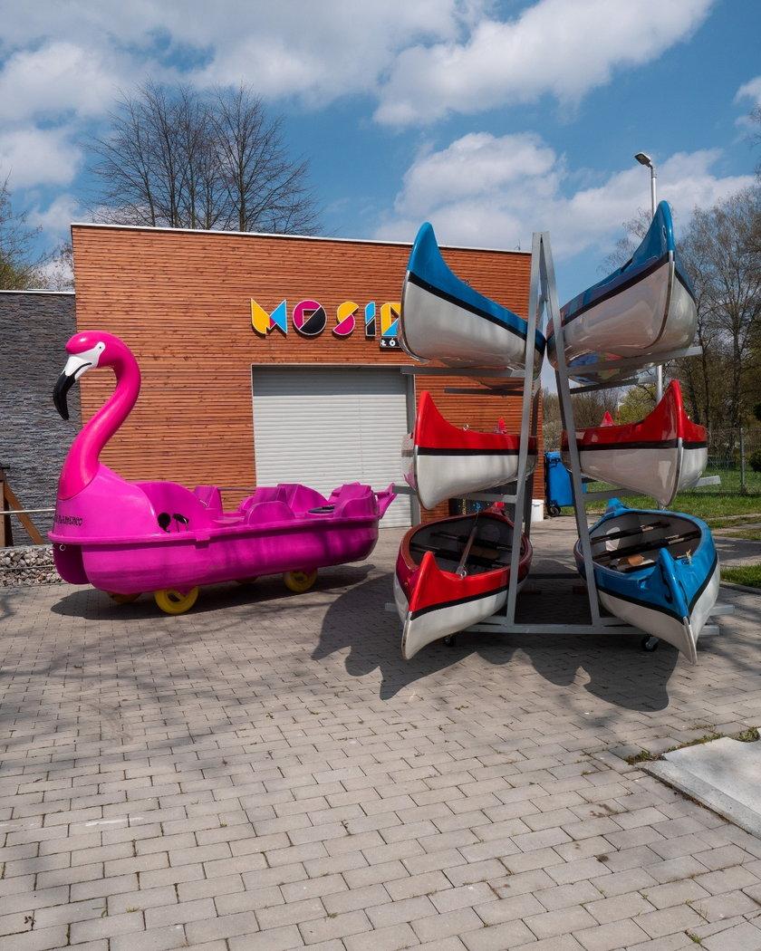 Przystanie wodne w Łodzi czekają na otwarcie
