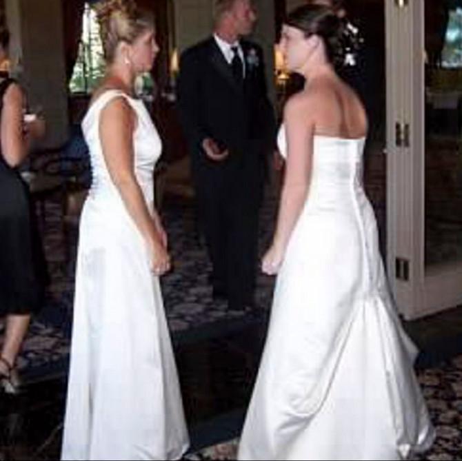 Snaja i svekrva u venčanici
