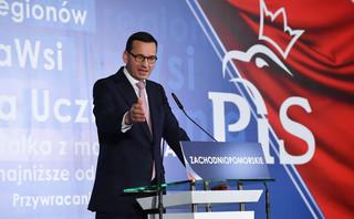 Wystąpienie Morawieckiego w Szczecinie: Od przemysłu stoczniowego do 'zakonnicy już przysłowiowej, niepełnosprawnej, przejechanej na pasach'