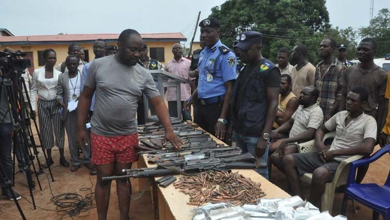 Police arrest suspected gunrunners in Enugu State/Illustration  [Universal Reporters]