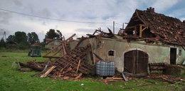 Tragiczny bilans burz. Jedna osoba nie żyje, a cztery są ranne. Zniszczone budynki, połamane drzewa i podtopienia