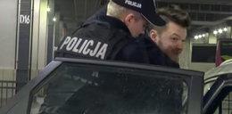 Policjanci skuli znanego blogera. Skarży się na brutalność