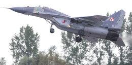 Niebezpieczny incydent z MiG-29 w Malborku. Pilot trafił do szpitala