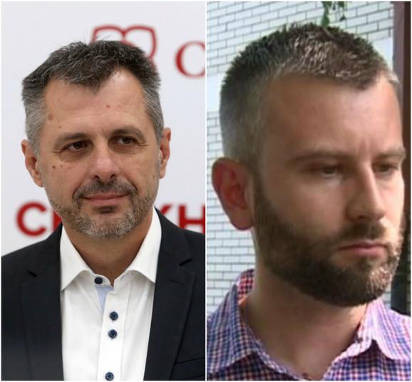 Igor Radojičić i Stojan Vukajlović