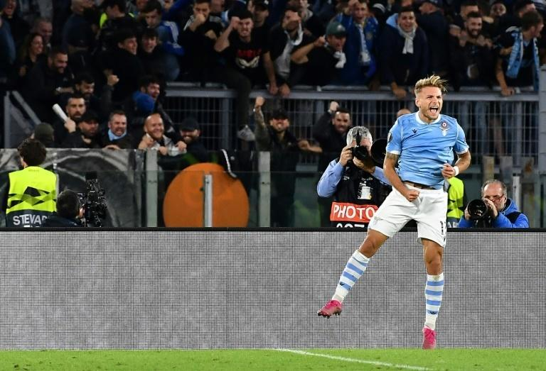 Immobile is the top Serie A scorer this season with nine goals