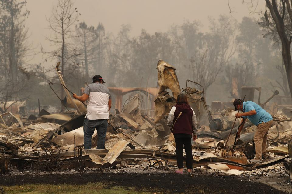 Pożar w Santa Rosa