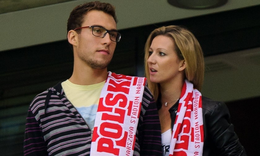 Marta Domachowska i Jerzy Janowicz
