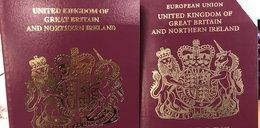 Złożyli wnioski o brytyjski paszport. On dostał wersję po brexicie, ona przed