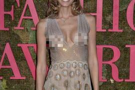 GOLE GRUDI U JAVNOSTI Pojavila se na dodeli nagrada u skroz providnoj haljini i sve ostavila bez teksta