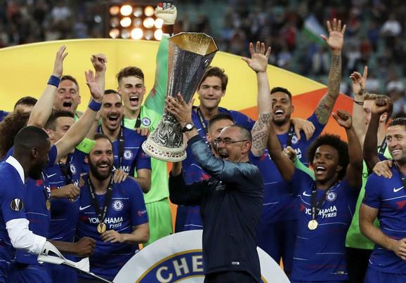 Prvi trofej u karijeri: Maurisio Sari