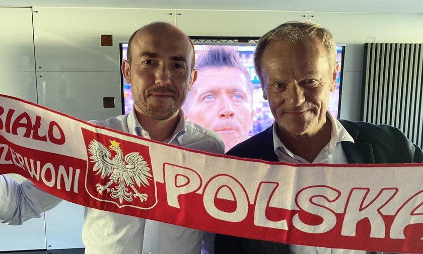 Borys Budka i Donald Tusk.