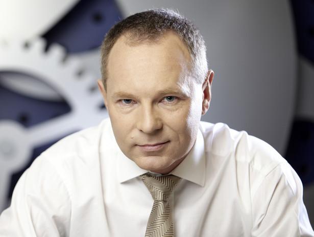 Adam Maciejewski, prezes Giełdy Papierów Wartościowych w Warszawie. Fot. GPW