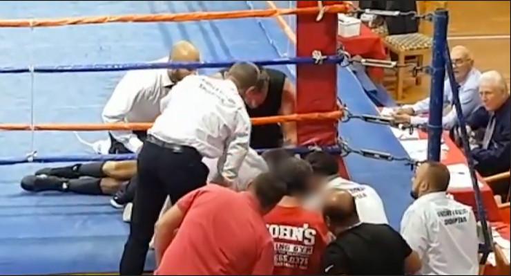 Boris Stančov, bokser
