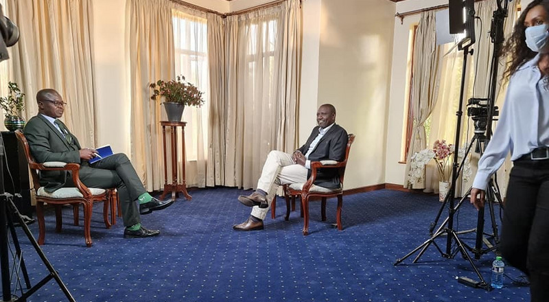 4 mind-blowing moments in DP Ruto's interview last night