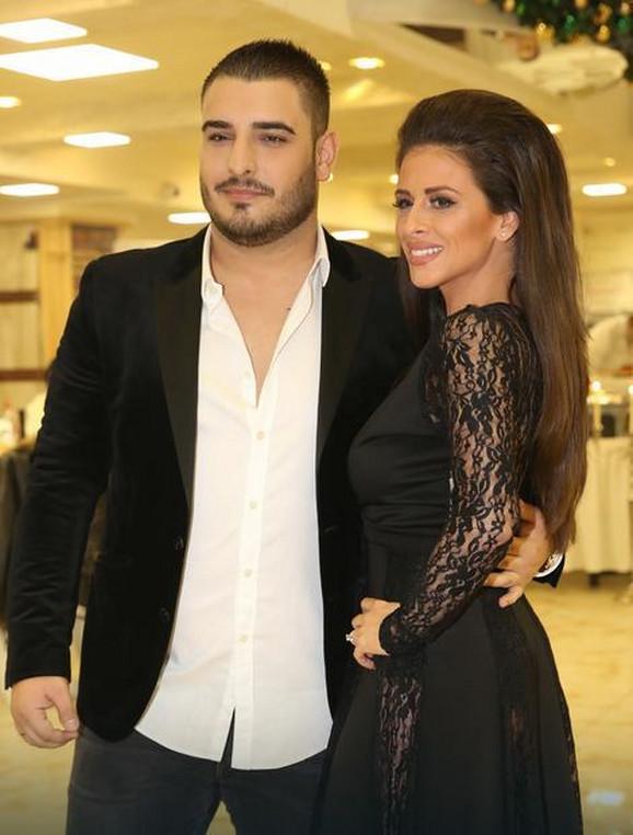 Ana sa bivšim mužem Darkom Lazićem