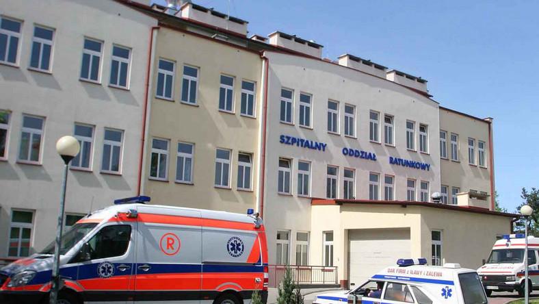 Ewakuowano pacjentów ze szpitala w Iławie