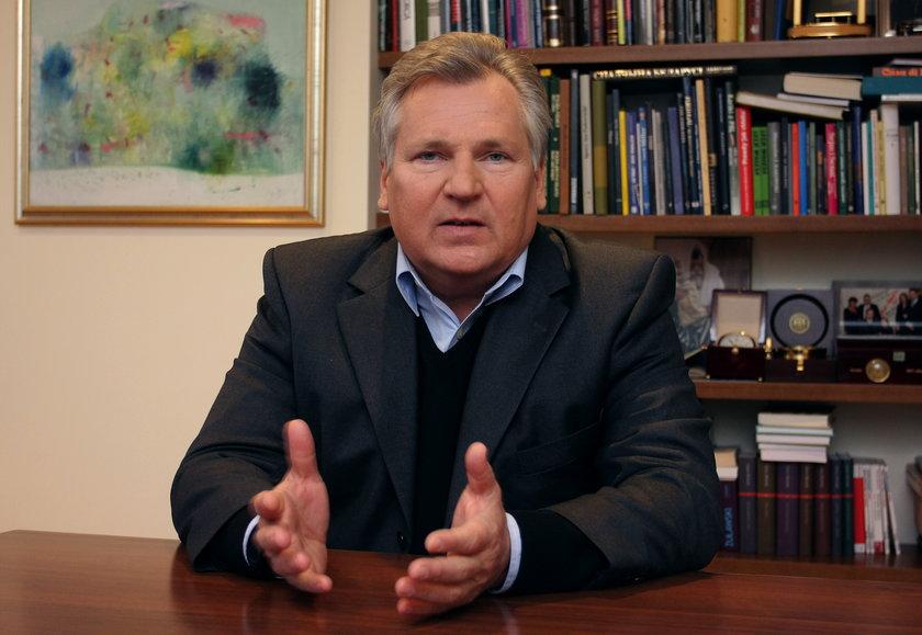 Kwaśniewski powiedział, co myśli o Wałęsie