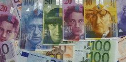 Szwajcarzy obniżyli kurs franka