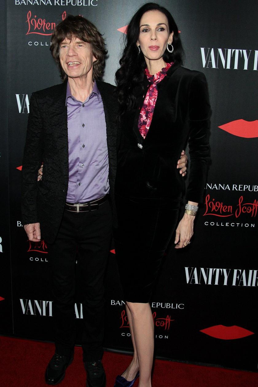 Mick Jagger i L'Wren Scott