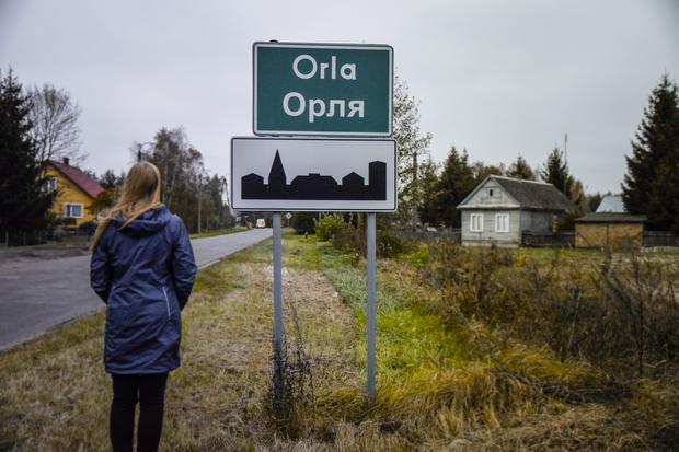 Orla - miejscowość, w której mieszka Wiera Popławska