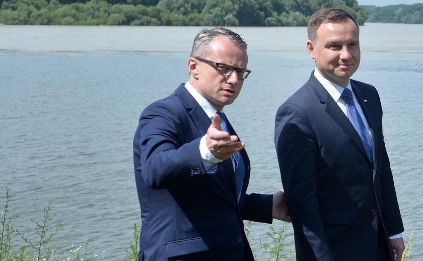Andrzej Duda, Andrej Kiska, Marek Magierowski