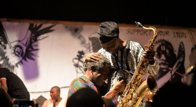 Blackman Akeeb Kareem and Orlando Julius