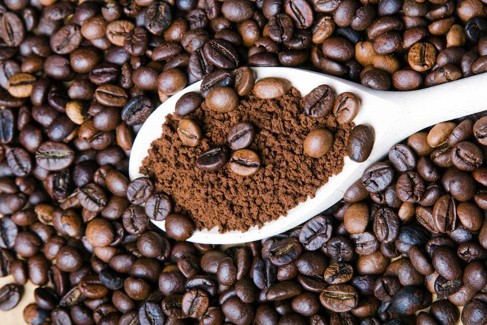 Mąka z kawy