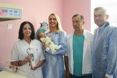 Prvi skrining sluha u Gračanici: Beba Magdalena odlično čuje