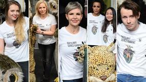 """Joanna Racewicz, gwiazdy """"Rodziny zastępczej"""" i inne gwiazdy wsparły akcję ekologiczną"""