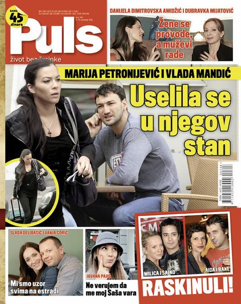 Novi Puls: Marija Petronijević se uselila kod Vlade