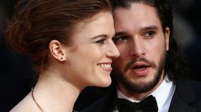 Kit Harington i Gemma Arterton na rozdaniu Olivier Awards